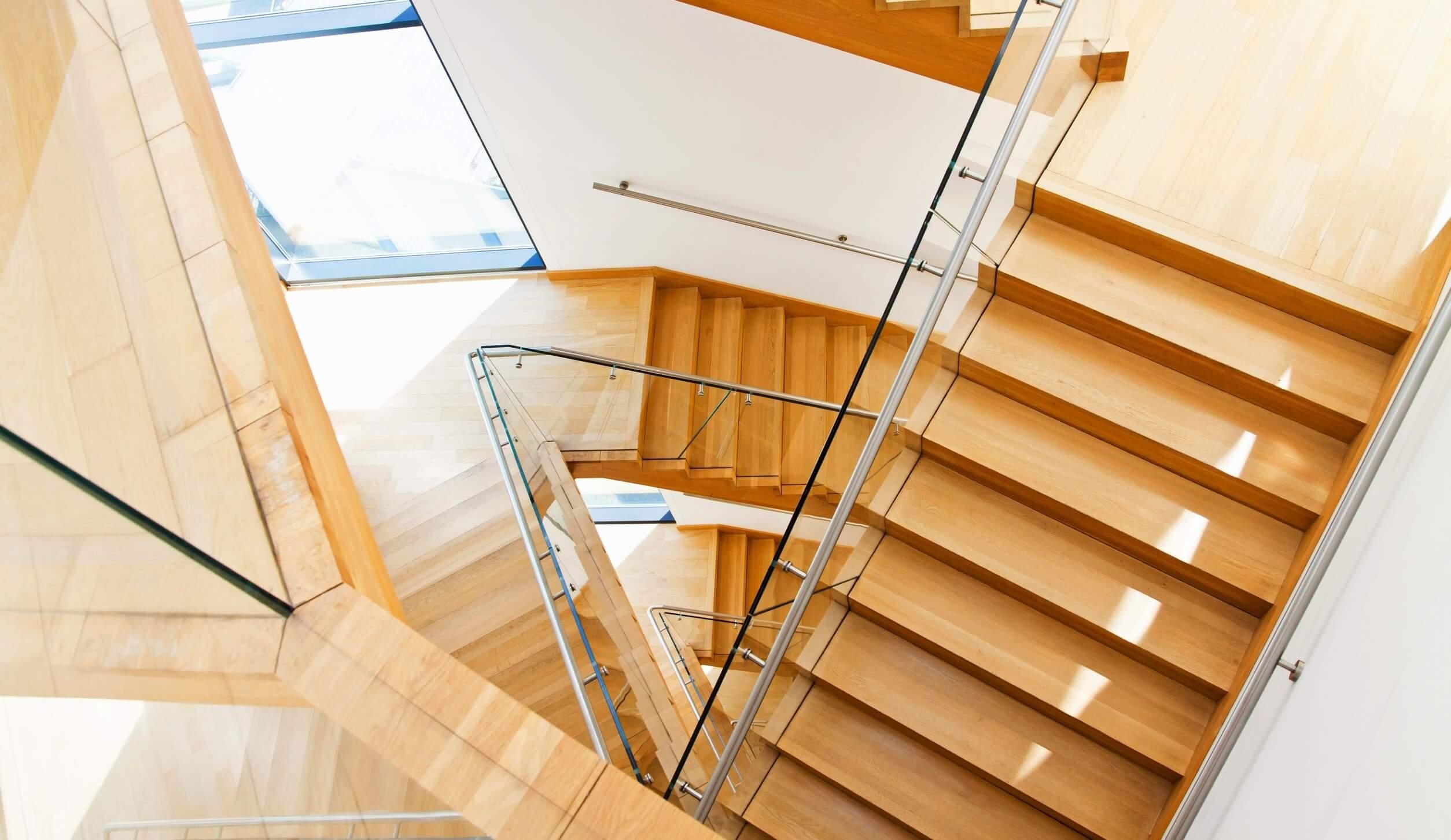 Treppenschutzgitter Treppengitter bauweise geländer 360 grad