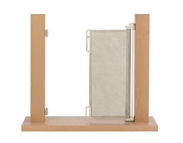 Treppenschutzgitter Impag mit integriertem Rollo