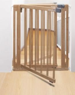 Treppenschutzgitter Safety 1st Easy Close Wood