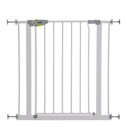 li il t rschutzgitter von hauck squeeze handle safety gate. Black Bedroom Furniture Sets. Home Design Ideas
